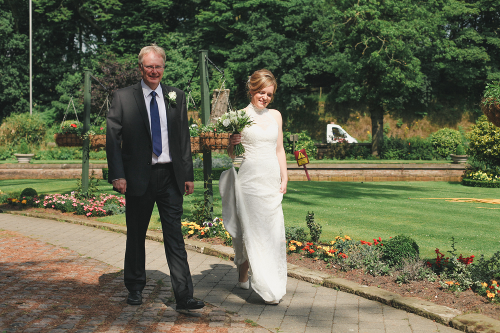 Lakeside Tower Nottingham father of the bride by love oh love photography