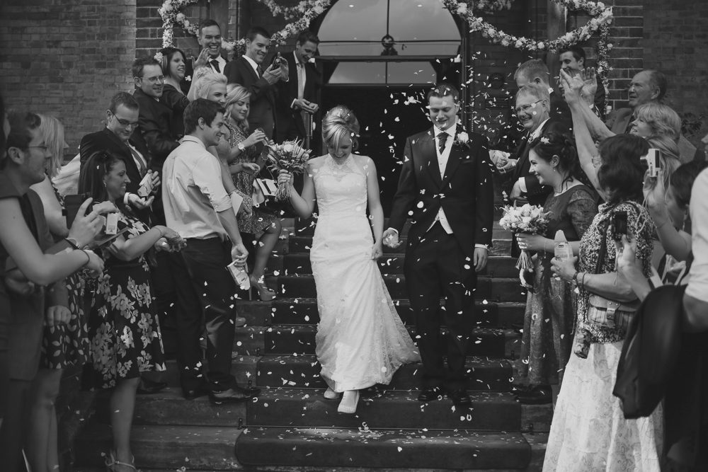 Lakeside Tower Nottingham confetti shot by love oh love photography