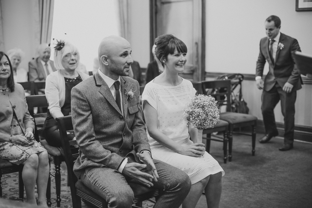 Islington Town Hall civil ceremony by love oh love photography