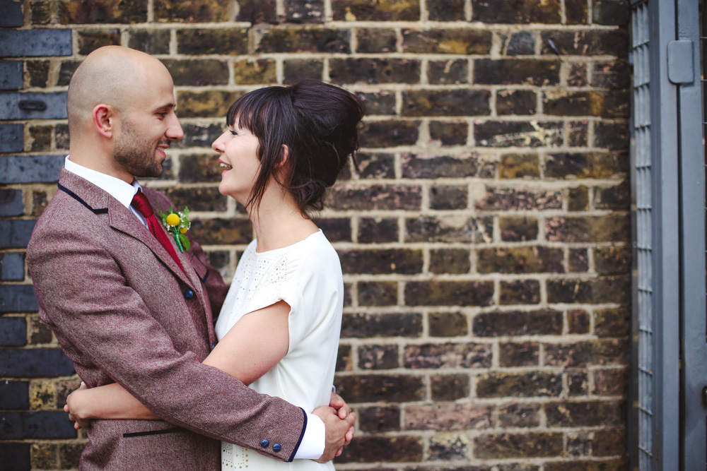 bride and groom informal portraits by love oh love photography